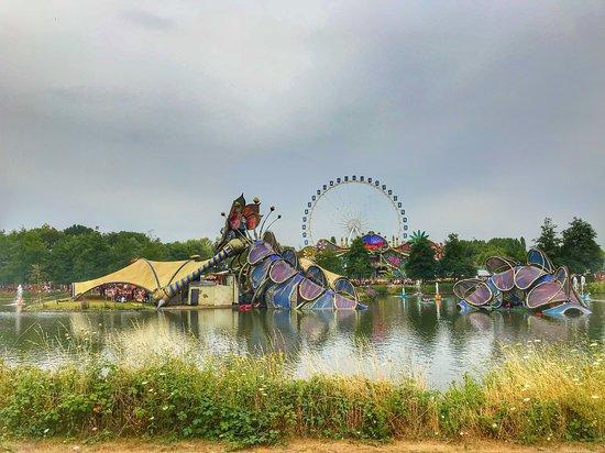 Tomorrowland Belgium: Festival Area