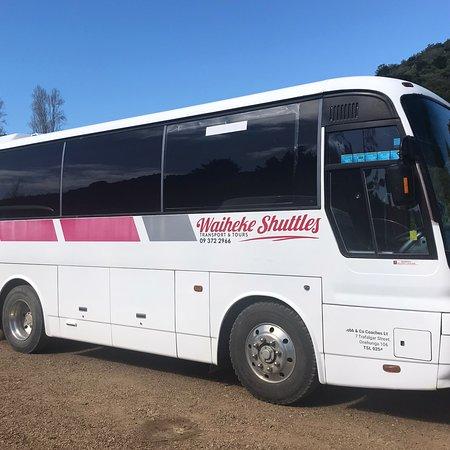 Waiheke Shuttles and Tours
