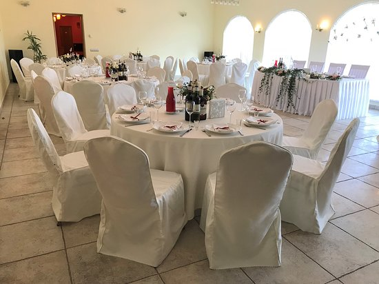 Ikskile, Λεττονία: Halls in TURBAS are suited for wedding and other celebration.