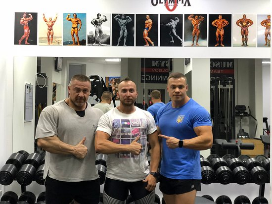 Muscle Gym Team Dolgov
