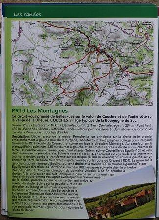 Saint Leger sur Dheune, ฝรั่งเศส: La brochure Couches et autour du Couchois