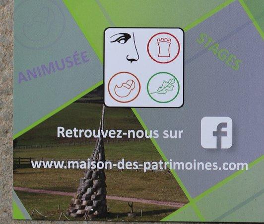 Le flyer Matour : Maison des patrimoines en Bourgogne du Sud