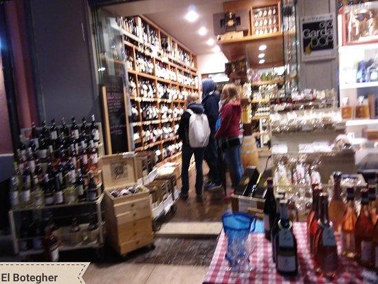 El botegher noo, specialità italiane di alimentari