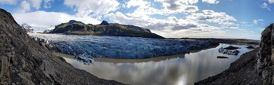 Svinafell, ไอซ์แลนด์: Glacier Panorama