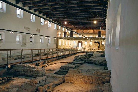 Aquileia, Italy: museo Paleocristiano, interno