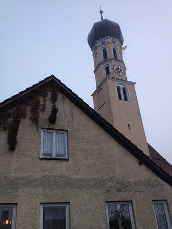 Wolfratshausen, Deutschland: Veduta dalla finestra