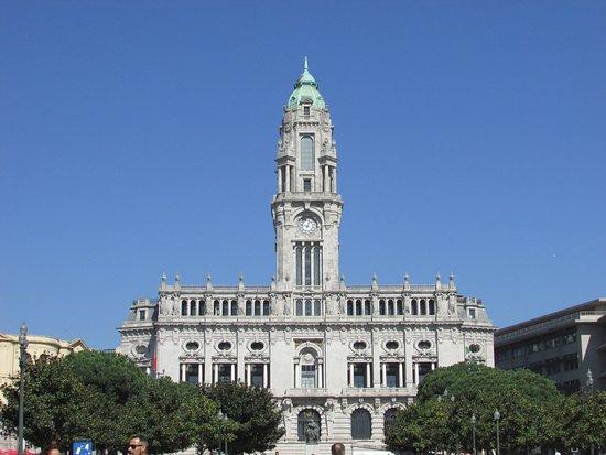 Porto City Hall: Vista por fora