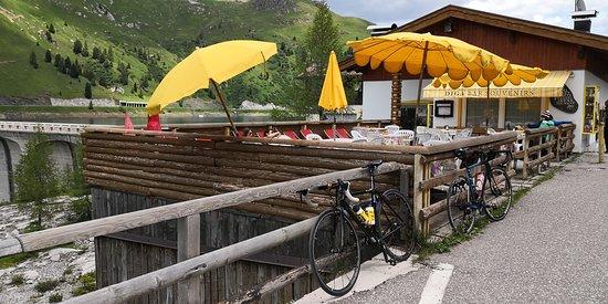Penia, Италия: Uteserveringen