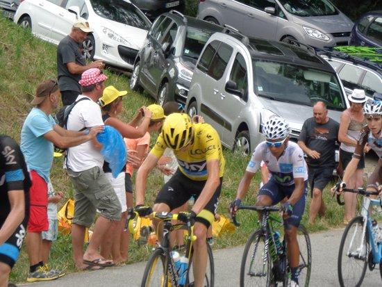 Saint Michel de Maurienne, França: Tour de France passing through 2016