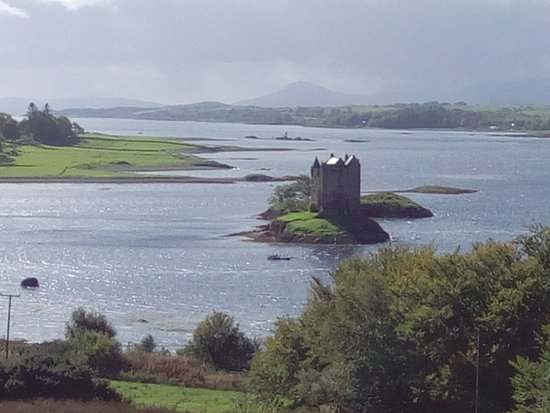 Appin, UK: Stalker Castle from the cafe