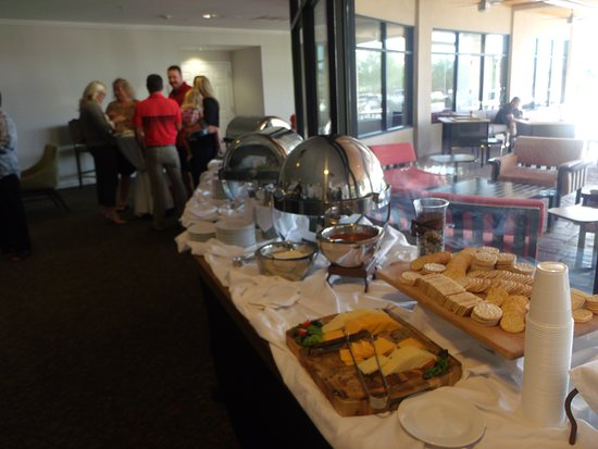 Hilton Garden Inn Tucson Airport: just some of the platters