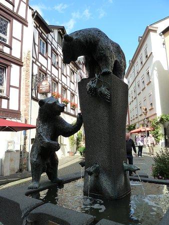 Bärenbrunnen i Bernkastel-Kues
