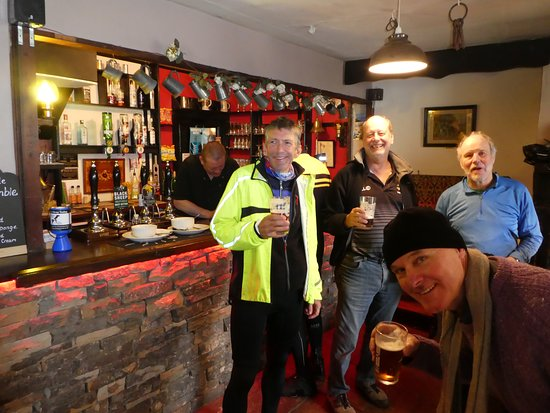 Garrigill, UK: The bar