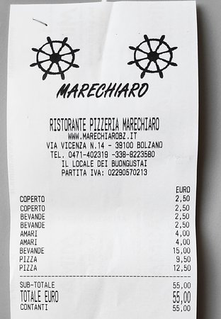 Ristorante Pizzeria Marechiaro: prezzi da paura!!!