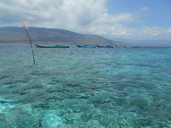 Alor Kecil, Indonesia: View of Alor from the coast of Ternate