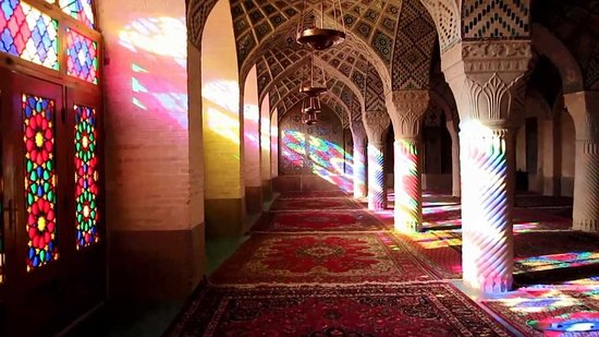 Nasir al-Mulk Mosque: Mosque of Whirling Colours: A Mixture of Architecture and Art