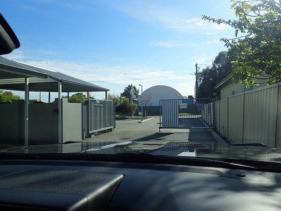 Redcliffe, Australie: SORTIE DU PARKING