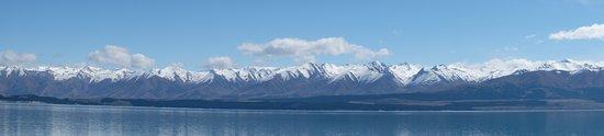 Canterbury Region, Nova Zelândia: Lake Pukaki