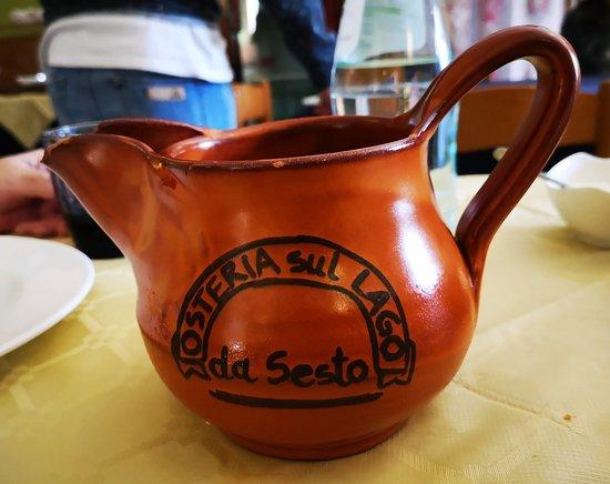 Serrapetrona, อิตาลี: calice vino ....
