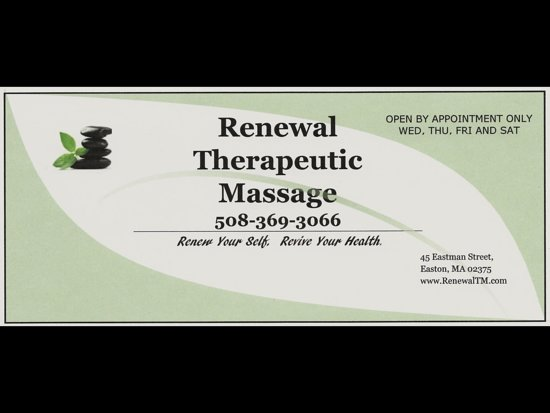 ‪Renewal Therapeutic Massage‬