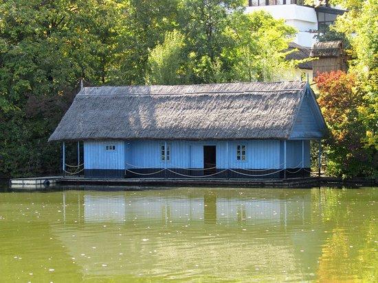 Der See im Tineretului Park