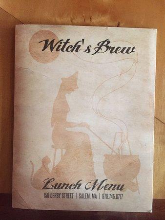 Witch's Brew Cafe : menu