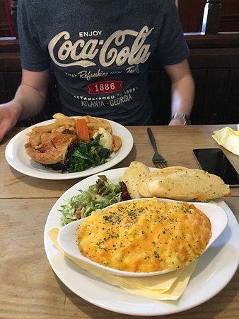Wasdale Head, UK: Macaroni Cheese.