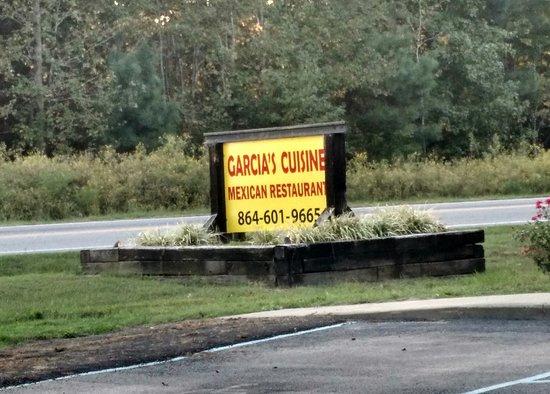 Fountain Inn, Южная Каролина: Outside sign