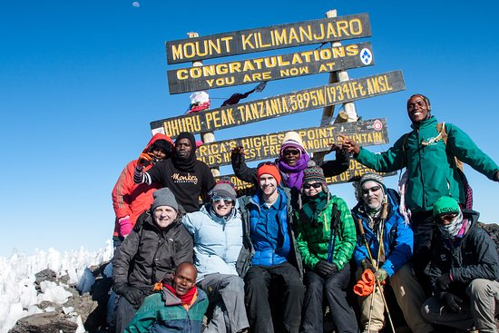 Machame Route - 6 days, Kilimanjaro: We made it!