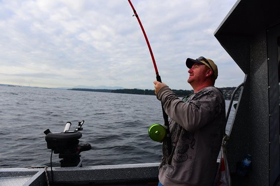 Catching Fish Picture Of Andrews West Coast Adventures Nanaimo