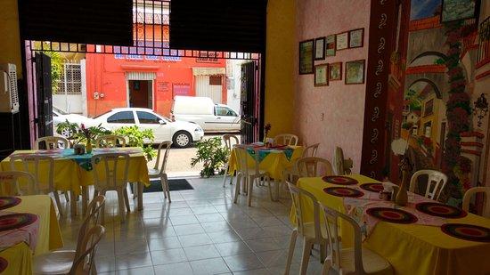 Iguala, Mexico: Un lugar muy tranquilo para comer