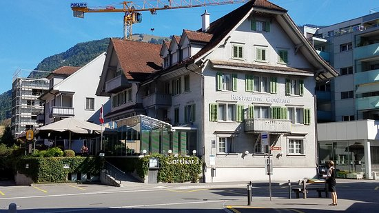 Restaurant Gotthard in Goldau Switzerland
