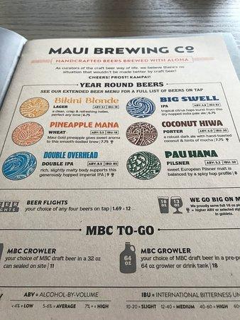 Maui Brewing Company Photo