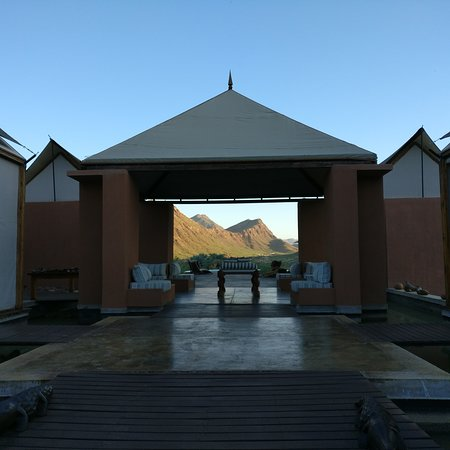 Kaokoland, Namibia: Main lodge