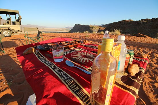 Kaokoland, Namibia: Marienfluss sundowners