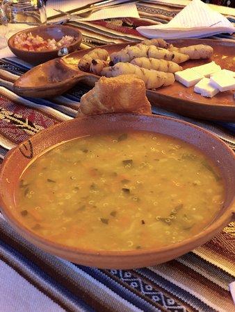 Taquile Island, Peru: Sopa