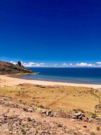 Taquile Island, Peru: Vista