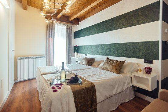 Molinos de Duero, Hiszpania: Habitación Matrimonio 2 camas
