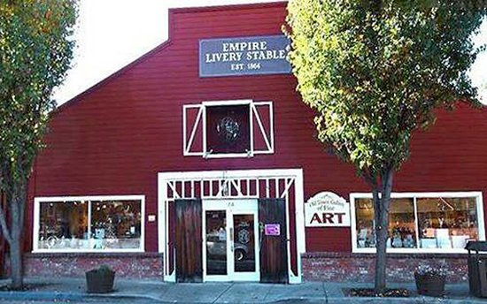 Located in a former livery stable in the beautiful historic district of Auburn, California