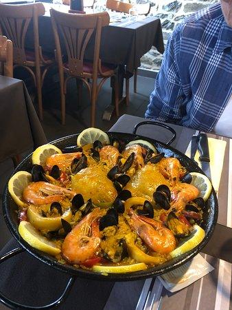 Ceaux, Francia: Fabulous paella