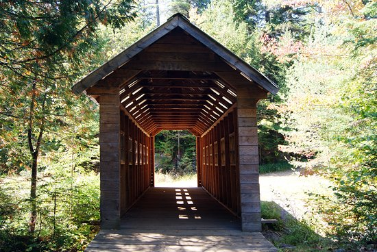 Saint-Come, Kanada: Il ponte coperto