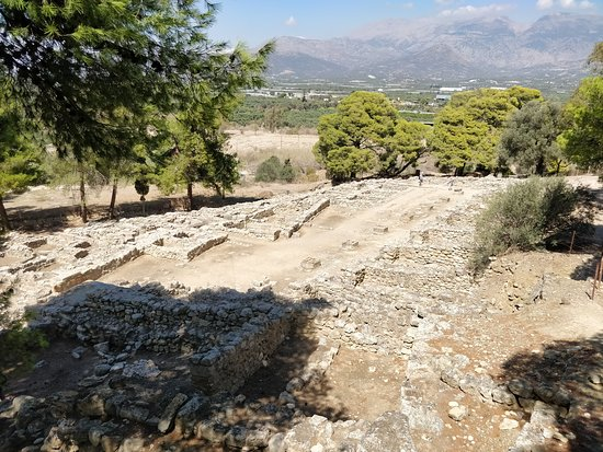 Tympaki, Greece: Site archéologique d'Agia Triada