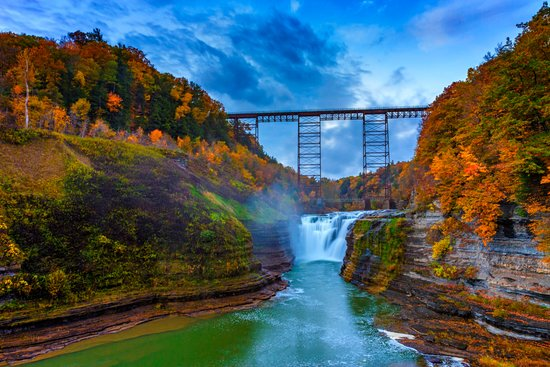 Warsaw, Нью-Йорк: nearby Letchworth State Park! 15 min. drive!