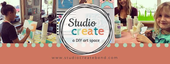 Bend, OR: Studio Create logo and banner
