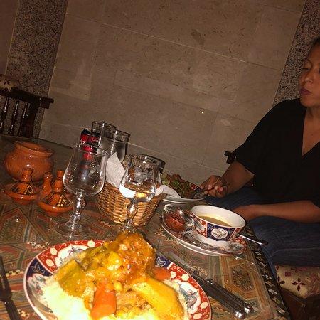 O melhor restaurante em Agadir