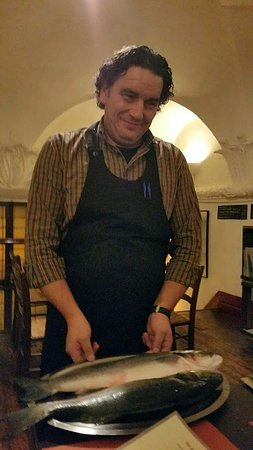 Matusel Ristorante: Prachtige vis met charmante ober