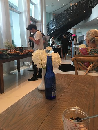 View of Sunday Brunch from a table