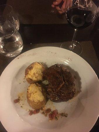 Aqva Restaurant: Ojo de bife
