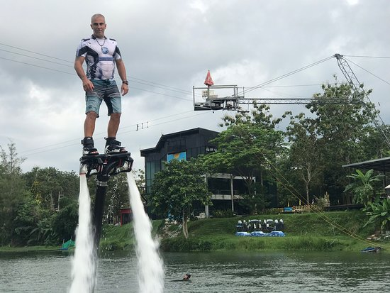 Thalang District, Thailandia: Flyboard Phuket
