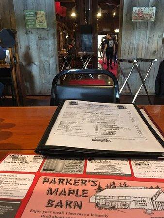 Mason, Nueva Hampshire: Barn Breakfast!